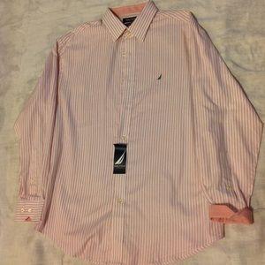 NWT Nautica Men's Dress Shirt